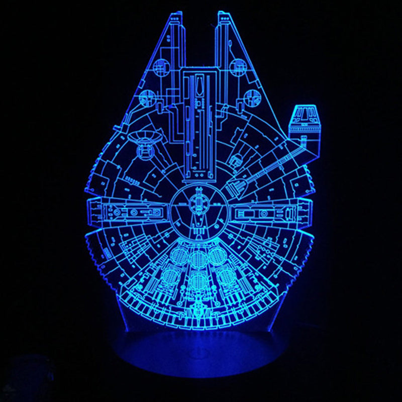 Millennium Falcon 3D Night Lights
