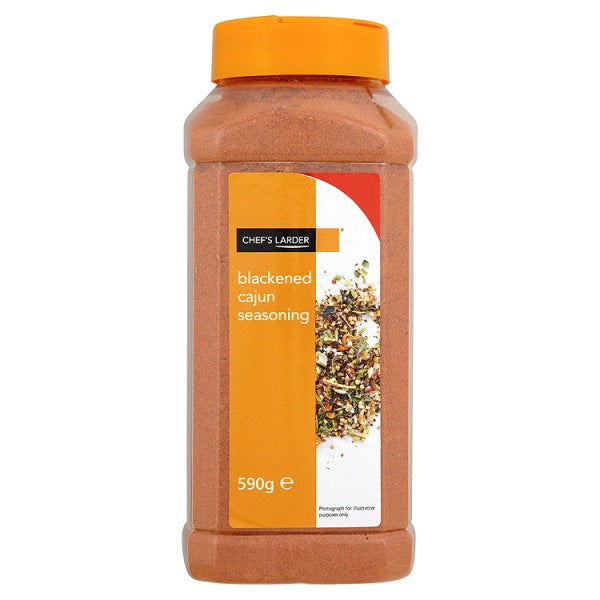 Chef's Larder Blackened Cajun Seasoning 590g Jar