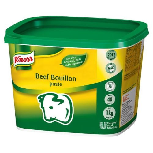 Knorr Gluten Free Beef Paste Bouillon 1kg Tub