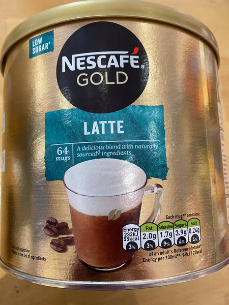 NESCAFÉ GOLD Latté Instant Coffee Tin 1kg