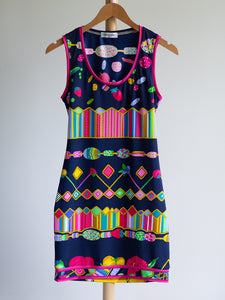 Leonard multicolor candy dress - De'Žavu Boutique