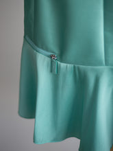 Load image into Gallery viewer, Longchamp turquoise dress - De'Žavu Boutique