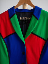 Load image into Gallery viewer, Escada vintage multicolor blazer - De'Žavu Boutique