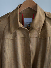 Load image into Gallery viewer, CoStume National silk and linen blazer - De'Žavu Boutique