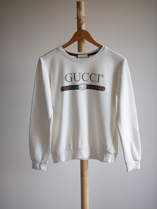 Gucci white sweater - De'Žavu Boutique