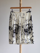 Load image into Gallery viewer, MaxMara black and white cotton skirt - De'Žavu Boutique