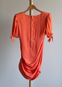 Emanuel Ungaro vintage orange dress - De'Žavu Boutique