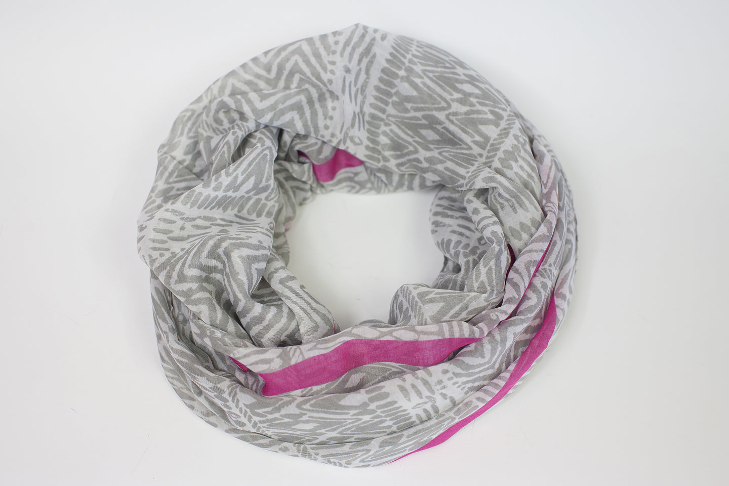 Printed Viscose Tassel Trim Scarf - De'Žavu Boutique