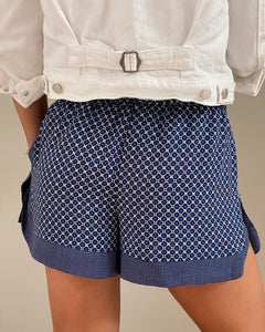 Zara blue shorts - De'Žavu Boutique