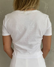 Load image into Gallery viewer, Zara cropped top in white - De'Žavu Boutique