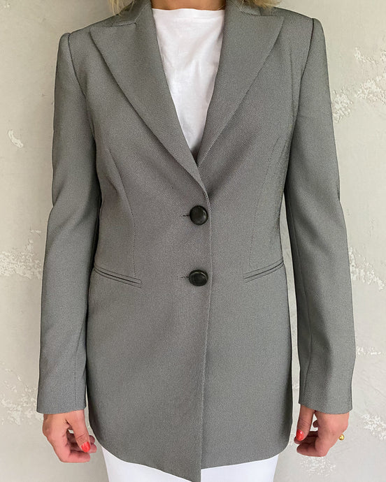 Emporio Armani grey suite jacket - De'Žavu Boutique