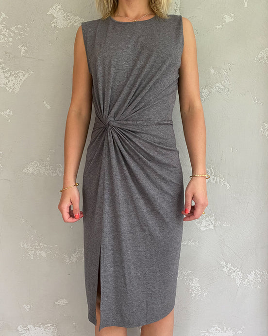 Paisie grey dress - De'Žavu Boutique