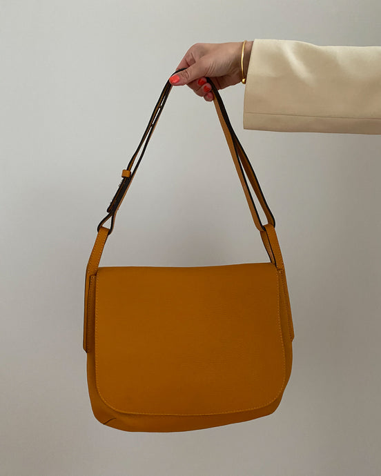 Gianni Chiarini brown leather shoulder bag - De'Žavu Boutique