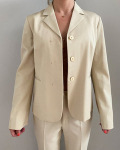 Stefanel beige woman's suit - De'Žavu Boutique