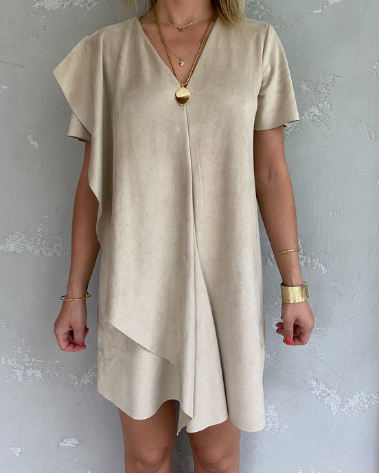 Boho sand dress - De'Žavu Boutique