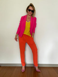Surface To Air orange trousers - De'Žavu Boutique