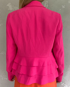 Comma pink suit jacket - De'Žavu Boutique