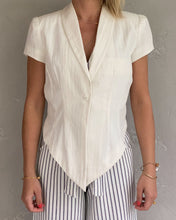 Load image into Gallery viewer, S'NOB pearl summer blazer - De'Žavu Boutique