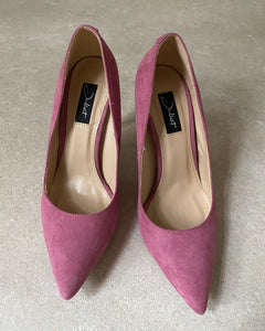 Juliet pink pointed high heels - De'Žavu Boutique