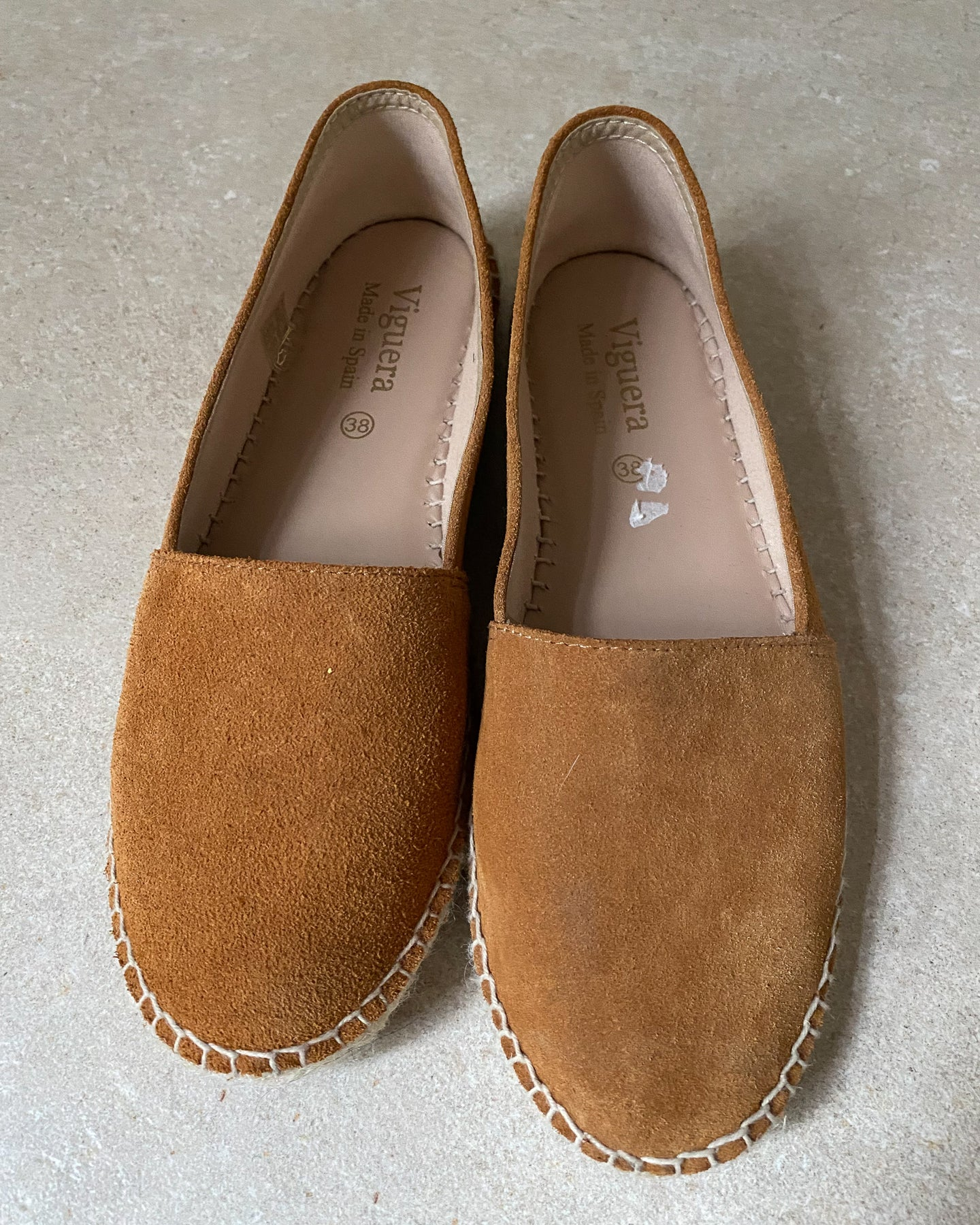 Viguera brown leather espadrille - De'Žavu Boutique