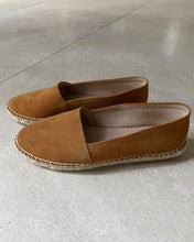 Load image into Gallery viewer, Viguera brown leather espadrille - De'Žavu Boutique