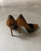 Load image into Gallery viewer, Constantino brown pointed high heels - De'Žavu Boutique