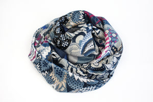 Multicolor Silk Scarf - De'Žavu Boutique