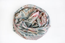 Load image into Gallery viewer, Multicolor Silk Scarf - De'Žavu Boutique