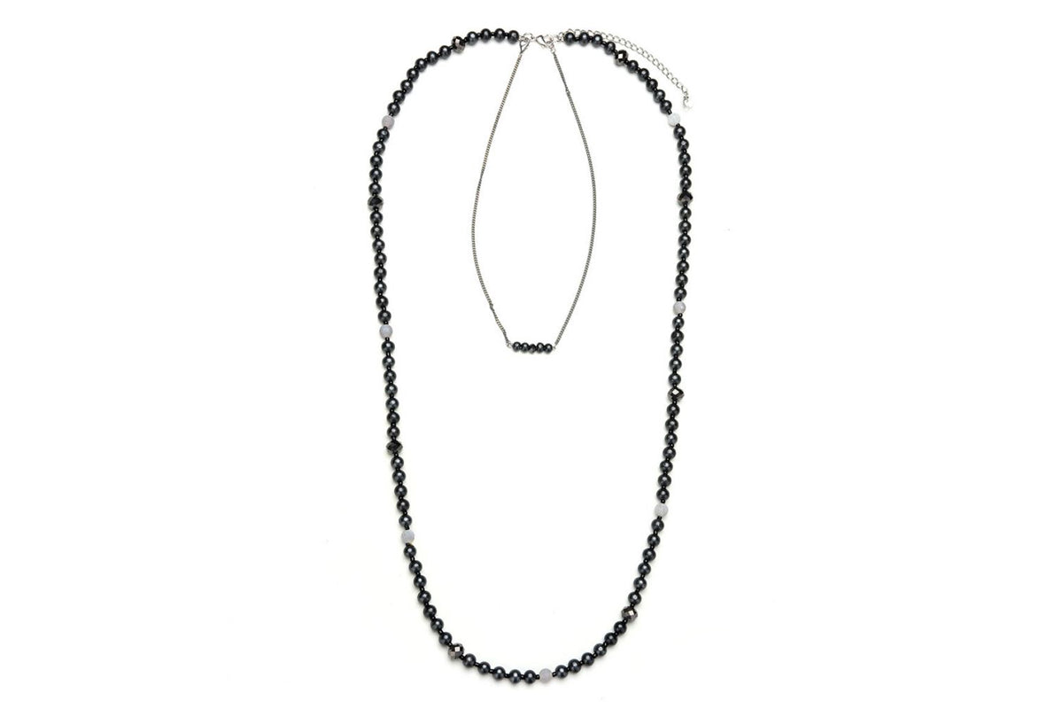 Long Multi Row Necklace - De'Žavu Boutique
