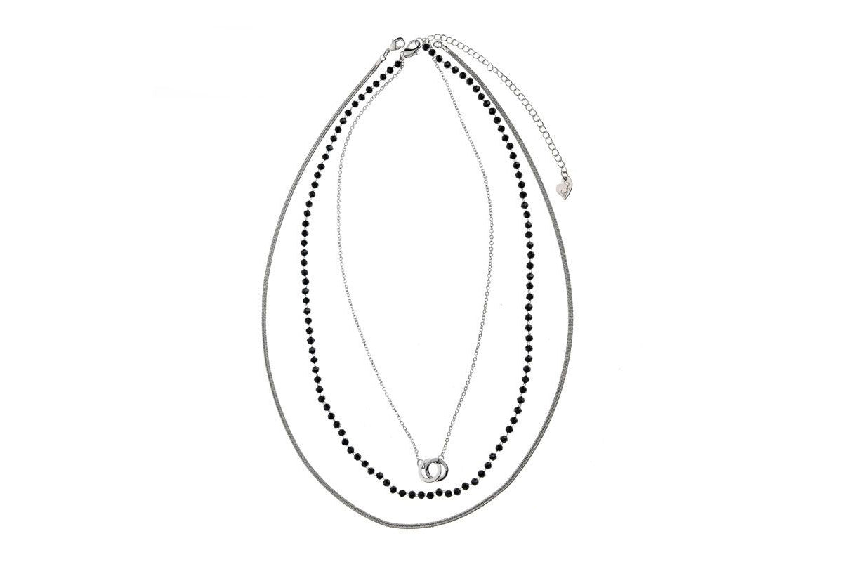 Three-strand delicate necklace - De'Žavu Boutique