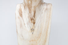 Load image into Gallery viewer, White Gold Geometric Necklace - De'Žavu Boutique