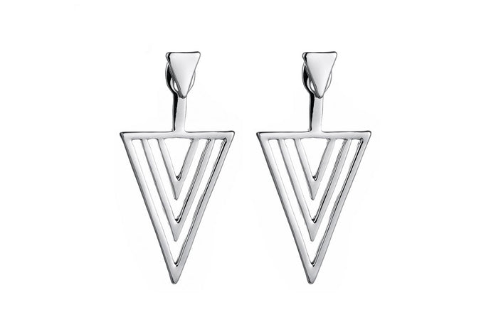 Triangle Earrings - De'Žavu Boutique