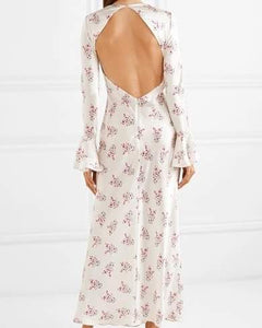Les Reveries Silk Maxi Dress - De'Žavu Boutique