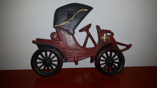 Vintage Midwest Products Co. Antique Car Metalware Wall Hanging - Treasure Valley Antiques & Collectibles