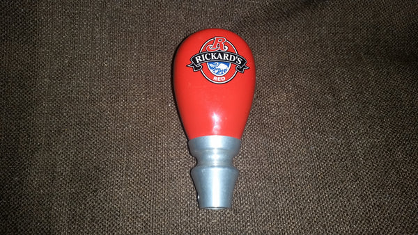 Rickard's Red Stubby Beer Tap Handle - Treasure Valley Antiques & Collectibles