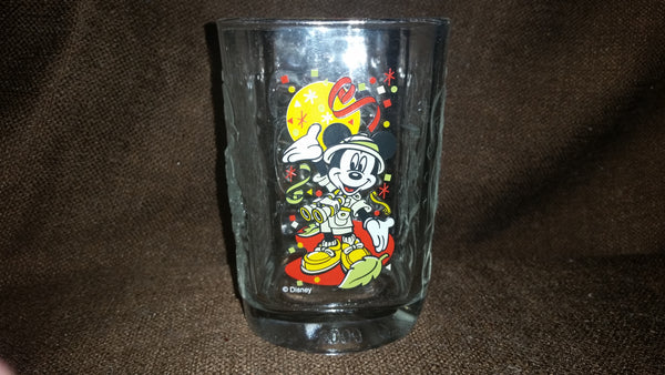 Collectible 2000 Mickey Mouse Wild Kingdom Walt Disney World McDonald's Anniversary Glass - Treasure Valley Antiques & Collectibles