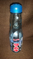 Japanese Ramune Soda Drink Marble Codd-neck Bottle - Empty - Treasure Valley Antiques & Collectibles