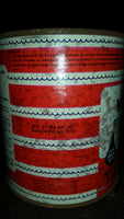 1950s Sta-Dri Instant Masonry Crack and Hole Water-Stop White Hydraulic Cement Tin