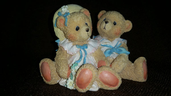 Cherished Teddies Bear in Sailor Suit Figurine Heidi and David Special Friends - Treasure Valley Antiques & Collectibles