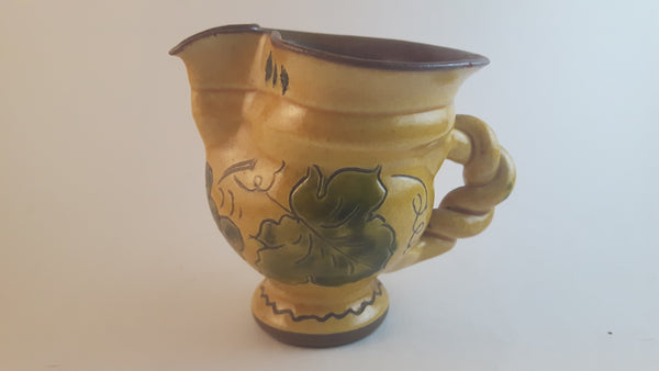 Vintage Rare Made in Liechtenstein SN Creamer Grape Vine Decor - Treasure Valley Antiques & Collectibles