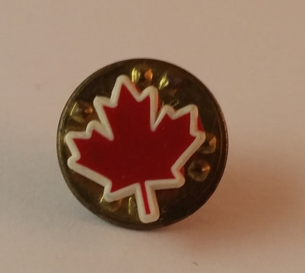 Vintage Canadian Canada Maple Leaf Collectible Souvenir Pin - Treasure Valley Antiques & Collectibles