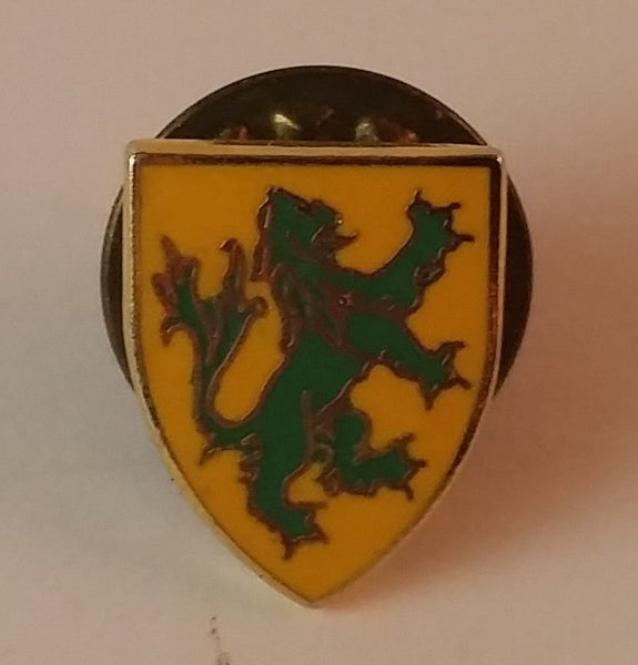 Vintage Sutton Royal Family Coat of Arms Collectible Pin - Treasure Valley Antiques & Collectibles