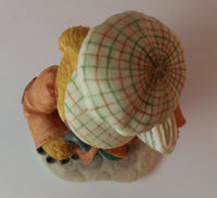 "Cherished Teddies Boy Holding Umbrella Figurine England ""You're A Jolly Ol' Chap"" - Treasure Valley Antiques & Collectibles"