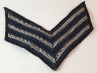 Vintage Military/Police Sergeant Sleeve Stripes Patch - Treasure Valley Antiques & Collectibles