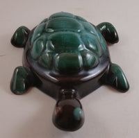 1960s Blue Mountain Pottery Drip Glaze Turtle - Canada