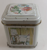 Vintage 1983 Frederick Warne Hunkydory Designs Nursery Rhymes Tom Kitten Small Tin - Treasure Valley Antiques & Collectibles