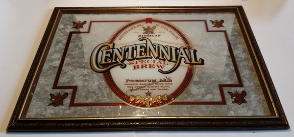 1996 Michelob Centennial Special Brew Premium Ale Anheuser-Busch Advertising Mirror - Treasure Valley Antiques & Collectibles