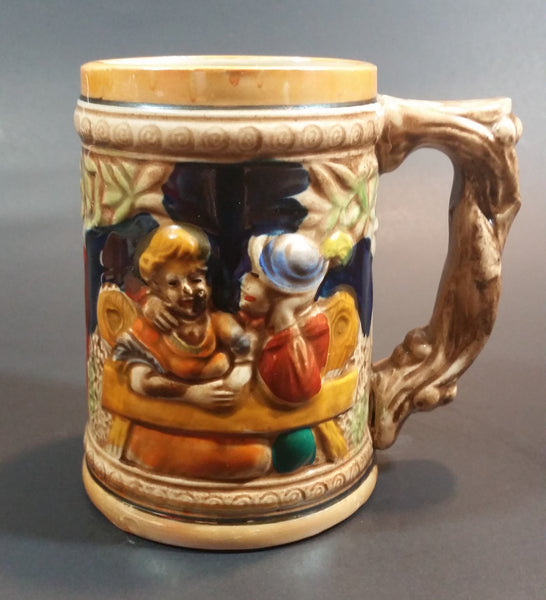 1950s German Oktoberfest Beer Stein Cabin Bar Lovers Made in Japan - Treasure Valley Antiques & Collectibles