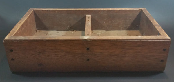 Antique Primitive Wooden Tool Box - Treasure Valley Antiques & Collectibles