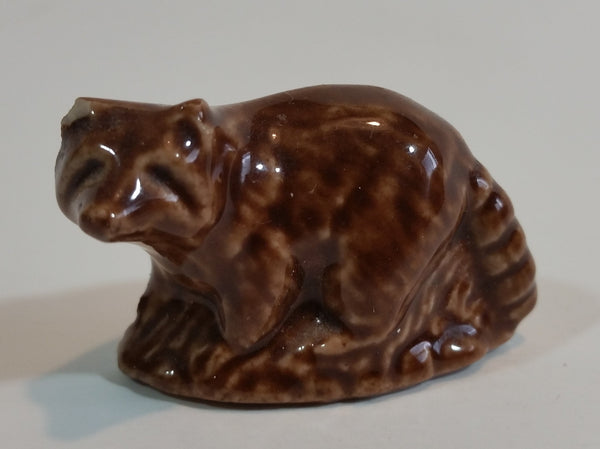 Red Rose Tea Raccoon Wade Figurine - Treasure Valley Antiques & Collectibles
